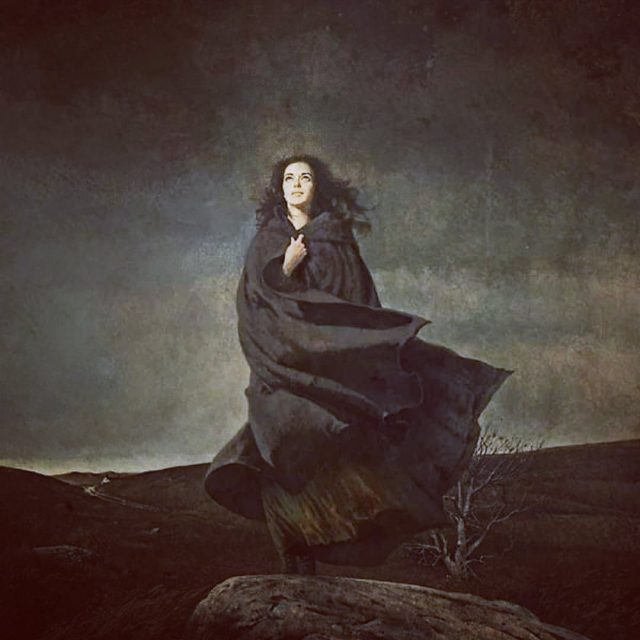 Mood . . . . . . . . . . . . . . . . . . . . .  #robertmcginnis #wutheringheights #moodygrams #witchesofinstagram #witchyvibes #election2020 #coverart #cautioslyoptimistic #relieved #gothicstyle #gothicart #gothicwriting #brontesisters #brontë #emilybronte