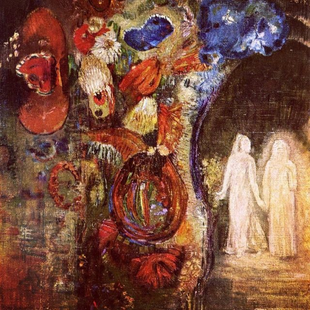 """""""Nothing in Art is achieved by will alone. It is achieved by docilely submitting to the subconscious."""" Odilon Redon 🥀Apparition . . . . . . . . . . . . . . . #odilonredon #aparition #subconsciousmind #subconsciousart #symbolism #frenchsymbolism #darkart #occultart #esotericknowledge #esotericart #ghosts #ghostlyfigure #witchyvibes #witchyart"""